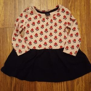Baby Gap 12-18 Mth Floral Top Dress